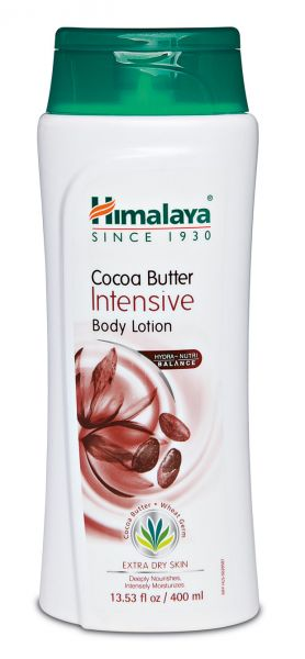 Himalaya Cocoa Butter Intensive Body Lotion is a luxurious blend of carefully selected botanical extracts that intensely moisturizes and provide essential nutrition to your skin.